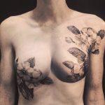 mastectomia cicatrici tatuaggi